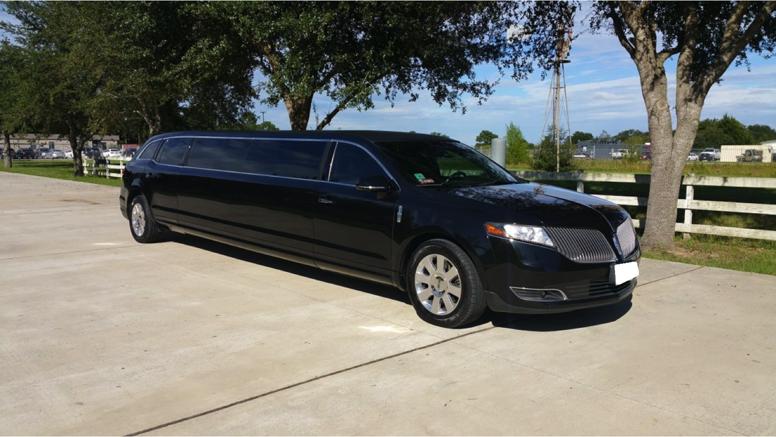 Black Wedding Stretch Limousine - Xclusive Limos